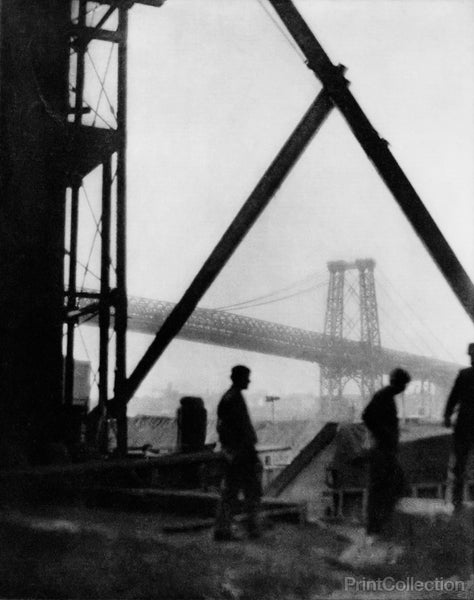 Williamsburg Bridge by Alvin Langdon Coburn