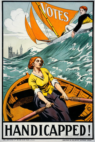 Women's Suffrage, Handicapped, London!