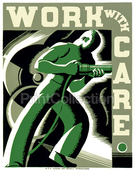 Work With Care, Riveter Worker