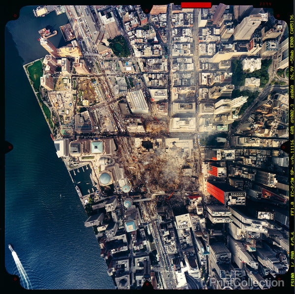 World Trade Center, September 23, 2001