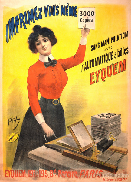 You Print 3000 Copies..., 1899