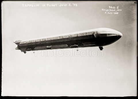 Zeppelin Airship in Flight II