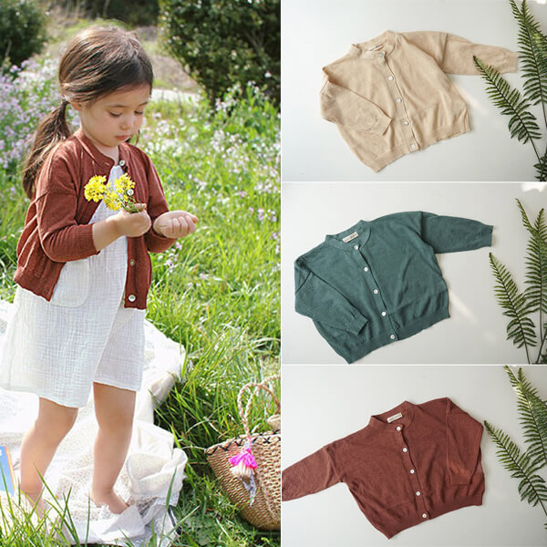 knit cardigan for girls