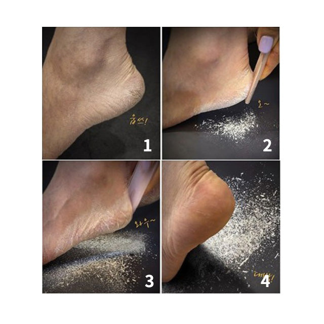 Bebe foot - remove dead skin cells of your heels