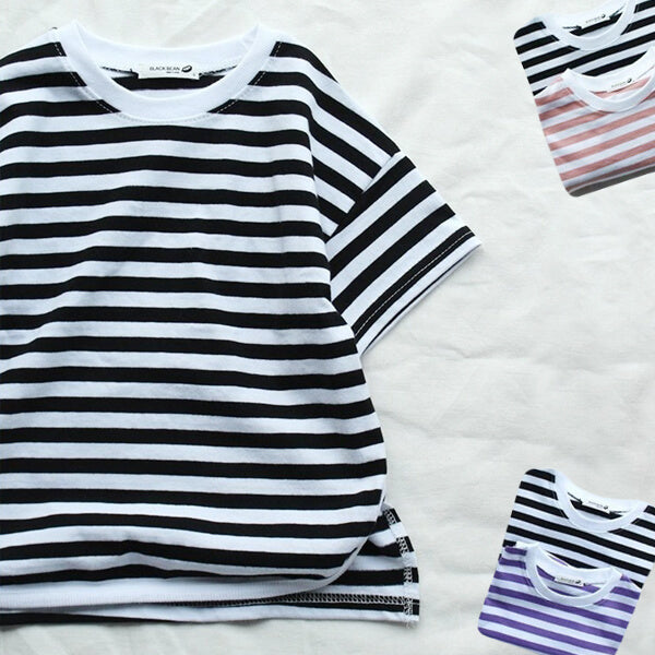 stripes T-shirt of kids