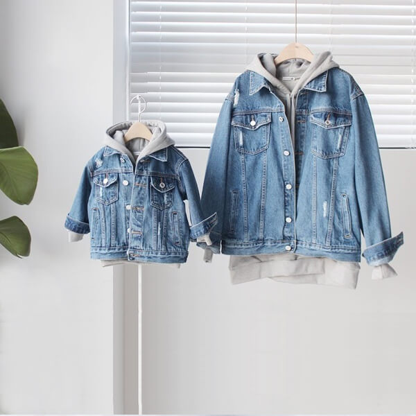 family denim jacket
