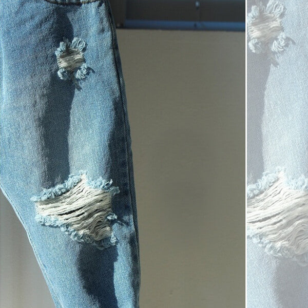 destroyed denim jeans for boys