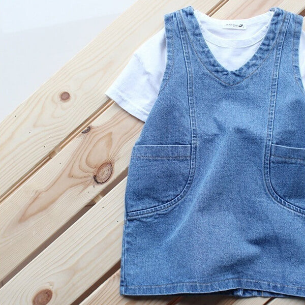 denim dress for girls