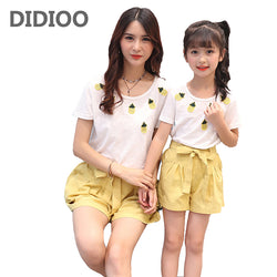 Mom & Daughter Pineapple Clothing Sets