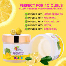 Load image into Gallery viewer, Alikay Naturals Lemongrass Slay & Lay Edge Gel 4 oz.