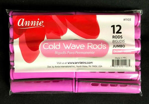 Annie Cold Wave Rods Long Pink