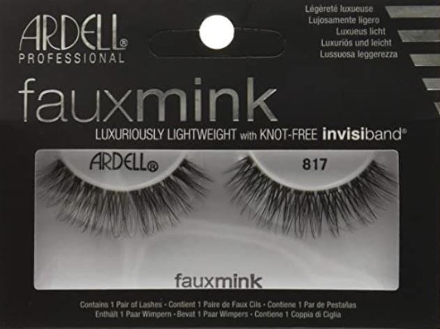 Ardell Faux Mink Strip Lashes 817 Black