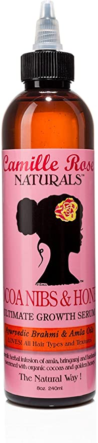 Camille Rose Cocoa Nibs & Honey Ultimate Growth Serum 8 oz.