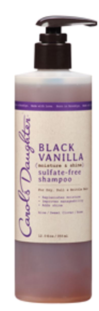 Carols Daughter Black Vanilla Sulfate Free Shampoo 12 oz.