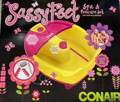 Conair Sassy Feet Spa & Pedicure Set