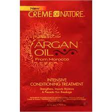 Creme of Nature with Argan Oil from Morocco Intensive Conditioning Treatment 1.75 oz.