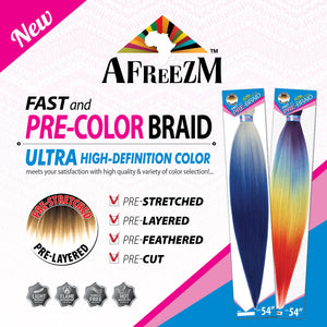 Afreezm Fast and Pre-Color Braid