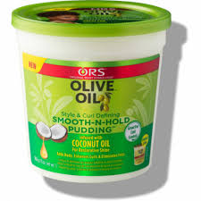 ORS Olive Oil Style & Curl Defining Smooth-N-Hold Pudding 13 oz.