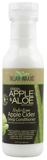 Taliah Waajid Green Apple & Aloe with Coconut Nutrition Apple Cider Deep Conditioner 12 fl. oz.