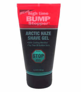 High Time Bump Stopper Arctic Haze Shave Gel 5.3 oz.
