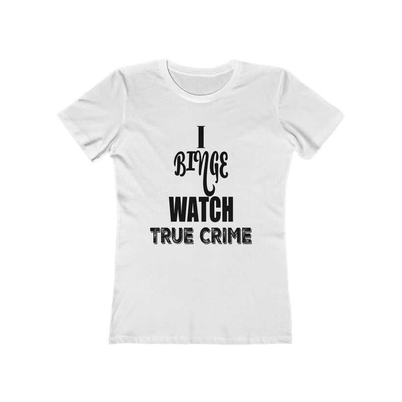 Feminine Cut T-shirts | True Crime Apparel