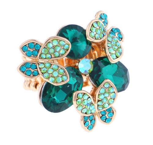 Delicate Flower Stretch Ring