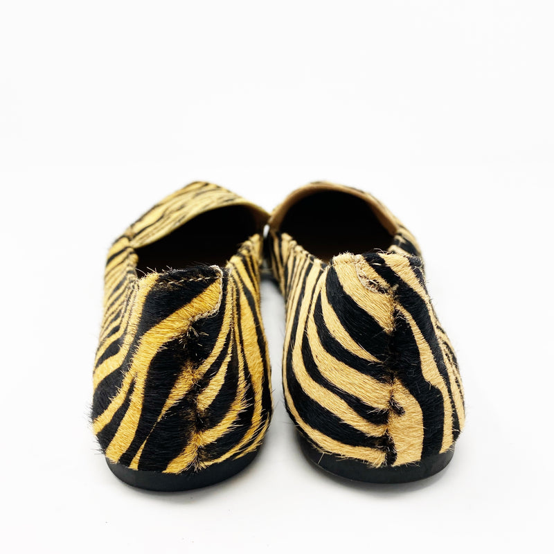 Steve Madden Feather Loafer, Tiger Print size 6.5