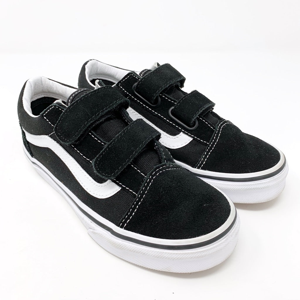 Vans Old Skool V Sneaker, Black Little Kid 1