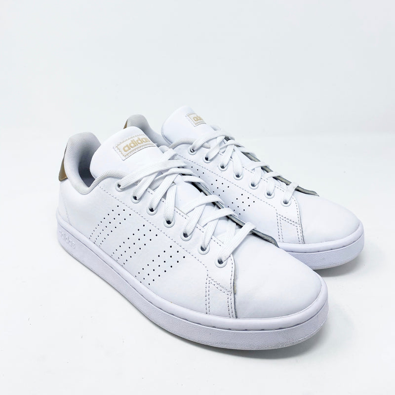 Adidas Advantage Leather Sneaker, White size 8.5