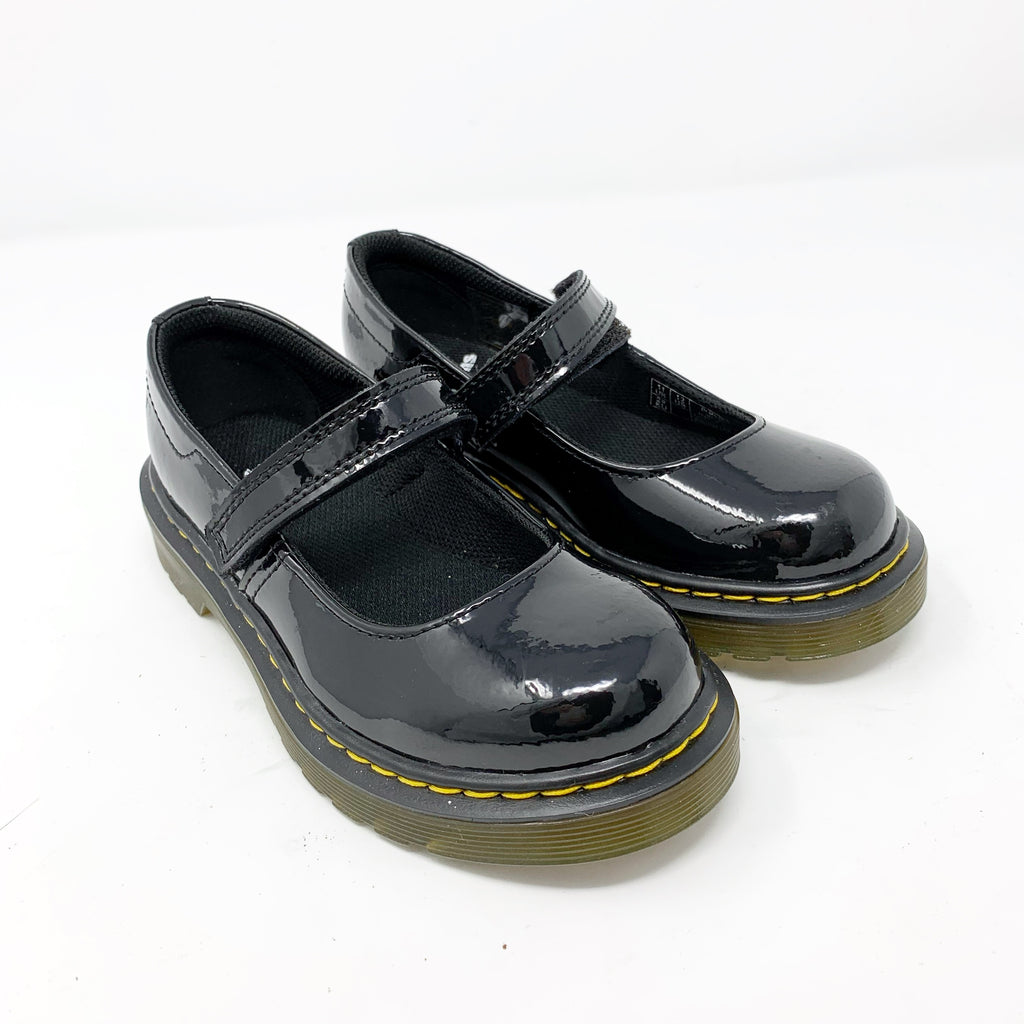Dr. Martens Maccy Mary Jane, Black size Little Girl 11