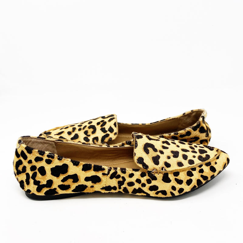 Steve Madden Feather Loafer Flat, Leopard size 6.5