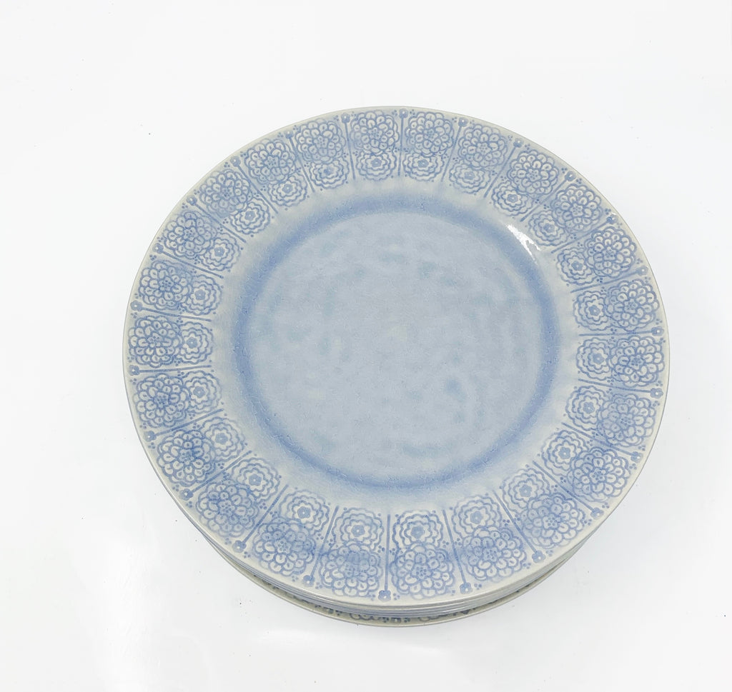 Anthropologie Veru Dinner Plate, Blue
