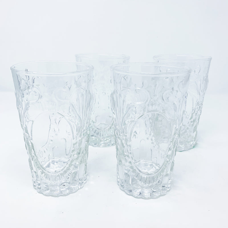 Anthropolgoie Sadie Tumbler Set of 4, Clear