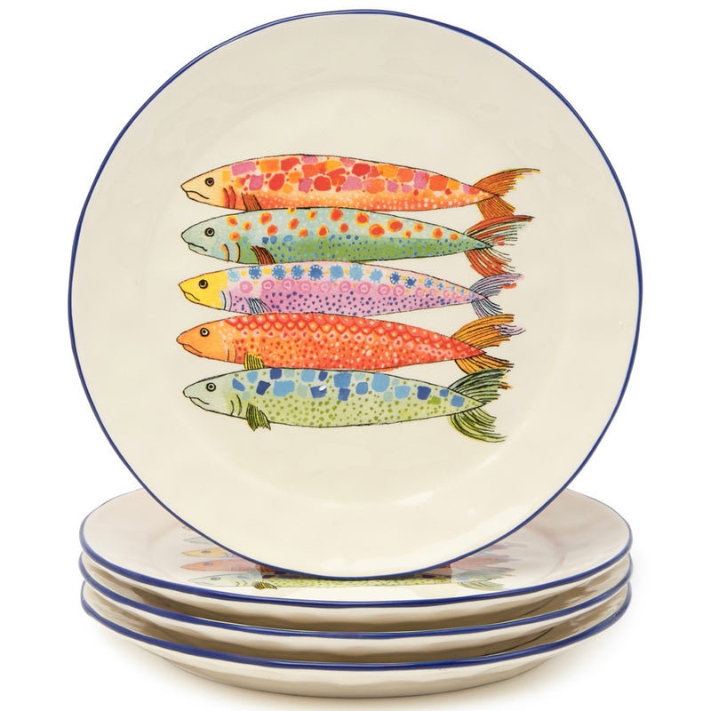 Anthropologie Sardina Side Plate, set of 4