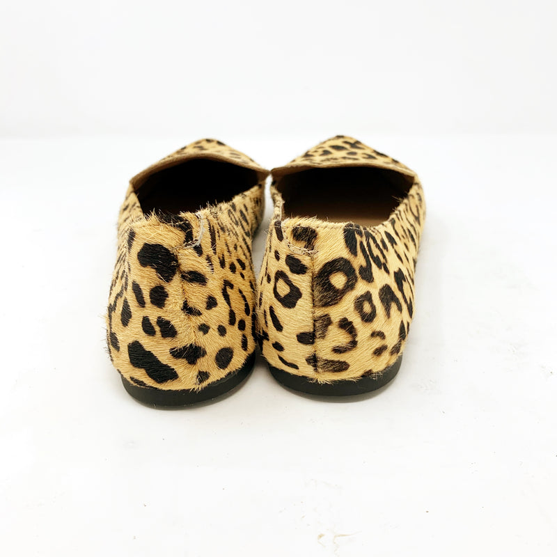 Steve Madden Feather-S Flat, Leopard size 8.5