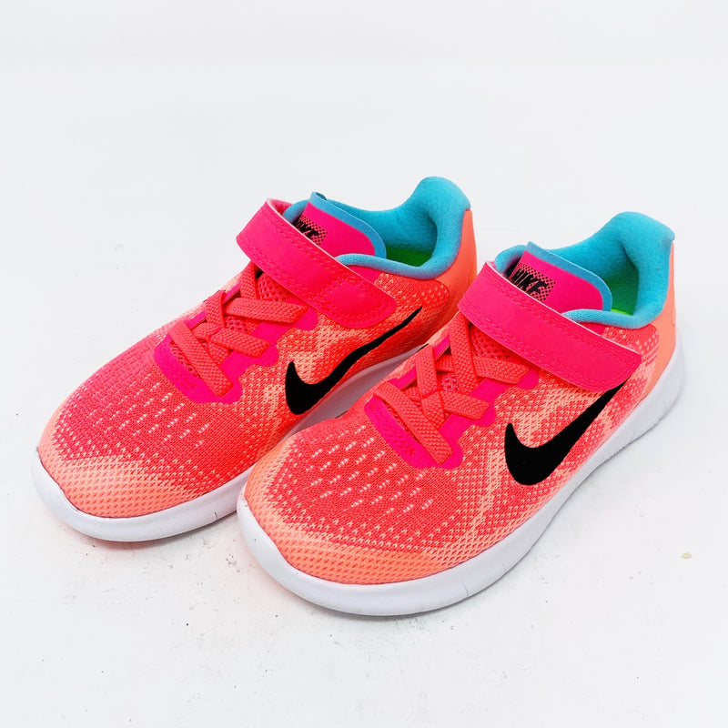 Nike Free RN Sneaker, Salmon Little Kid 10.5