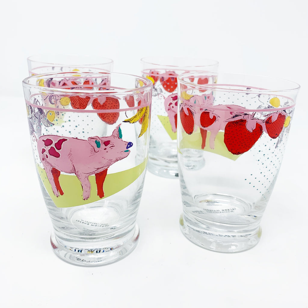 Anthropologie Lorena Maranon Toscana Juice Glasses, set of 2