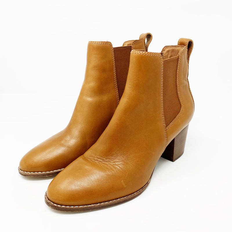 Madewell The Regan Boot, English Saddle Leather size 9
