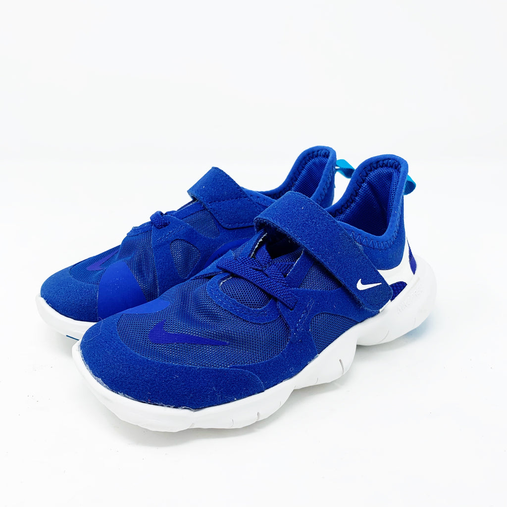 Nike Free Run 5.0 Sneaker, Blue 1.5