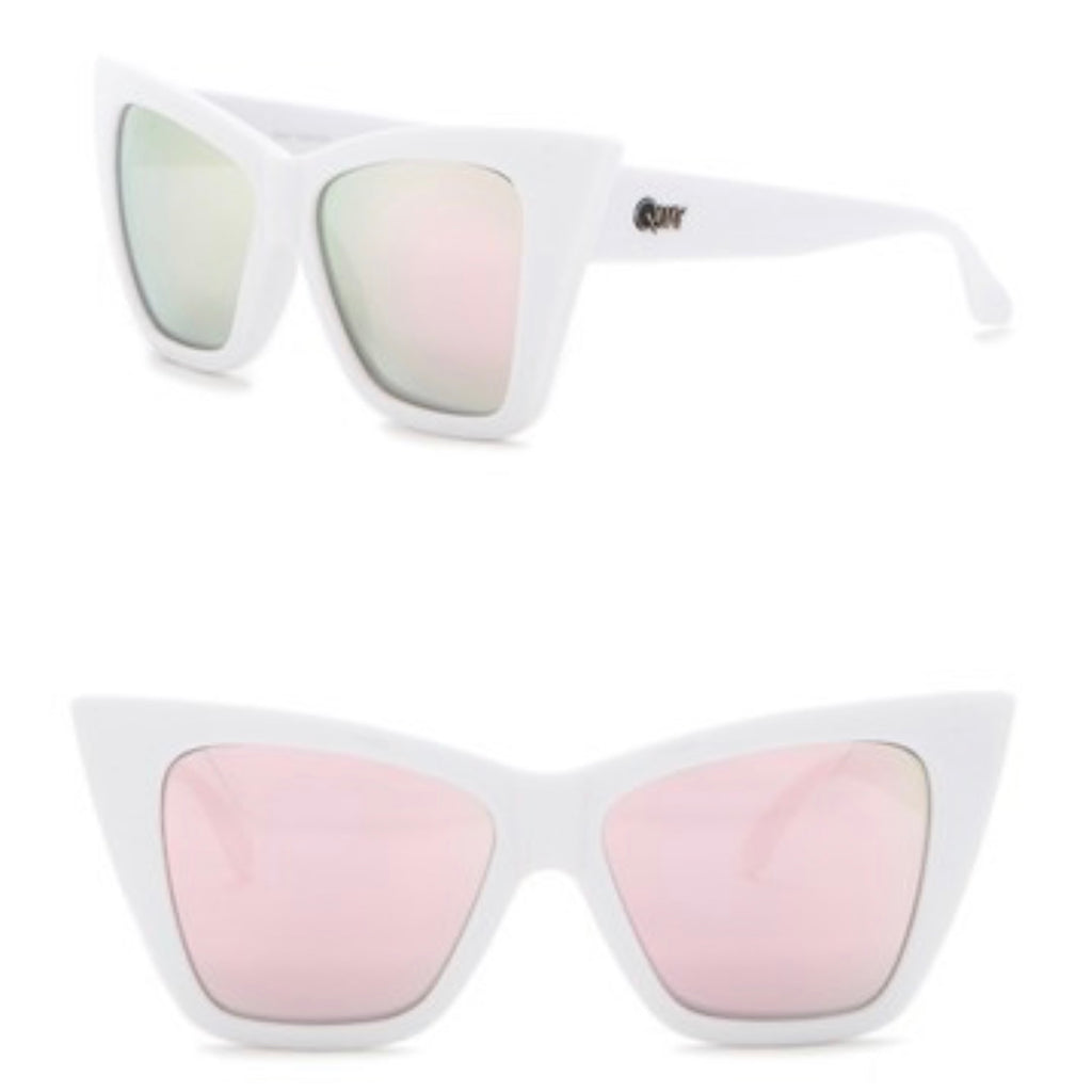 Quay Australia Vesper 56mm Cat Eye Sunglasses