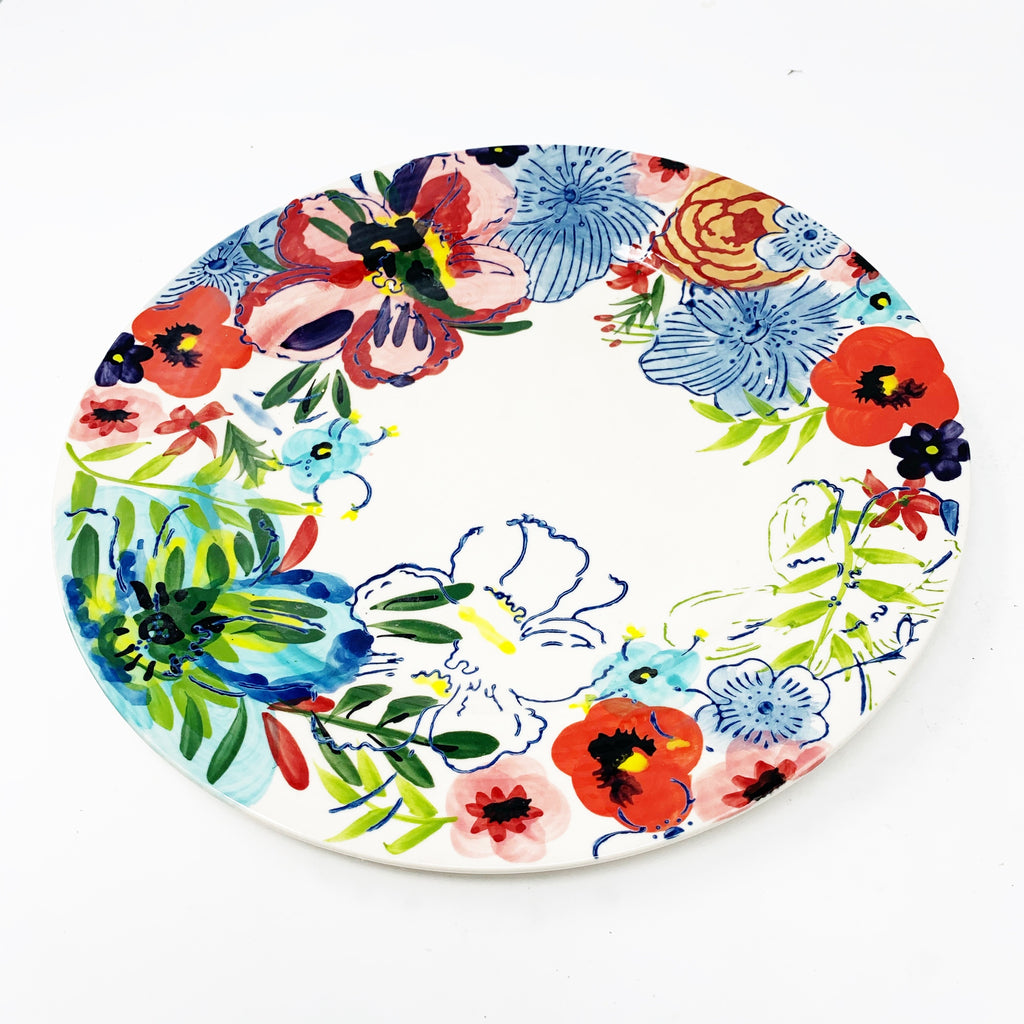 Anthropologie Sissinghurst Castle Dinner Plates