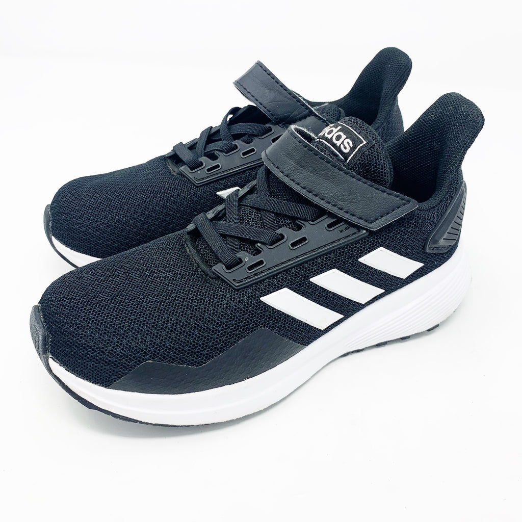 Adidas Duramo Sneakers, Black Little Kid 12.5