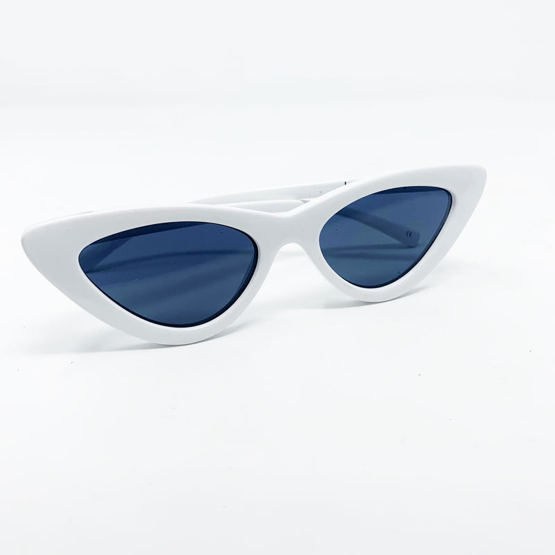 Adam Selman x Le Specs Luxe The Last Lolita Sunglasses, White