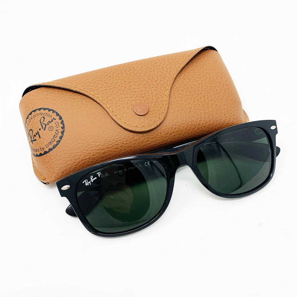 Ray Ban New Wayfarer Sunglasses, Black