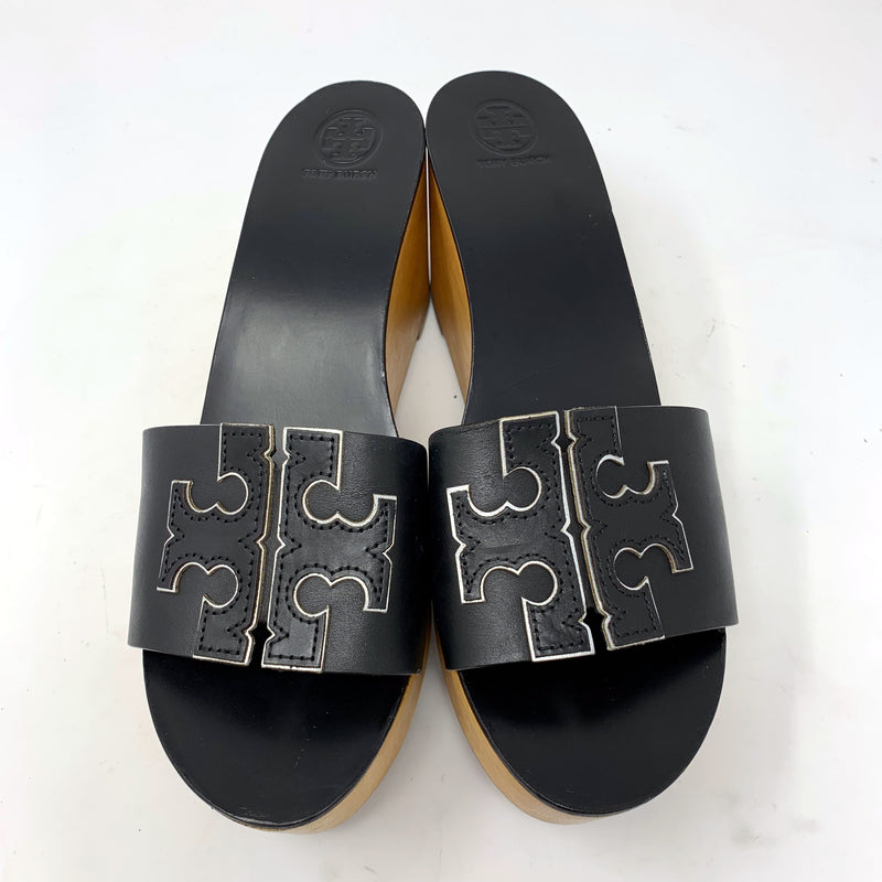 Tory Burch Ines Wedge Slide - Black