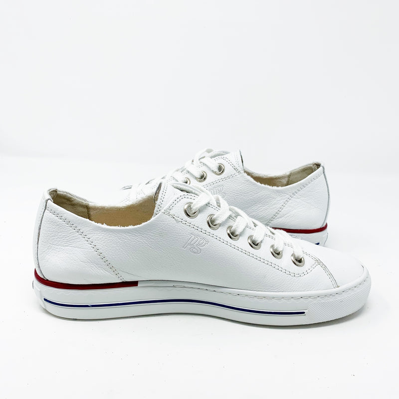 Paul Green Carly Low Top Sneaker, White UK 6/ US 8.5