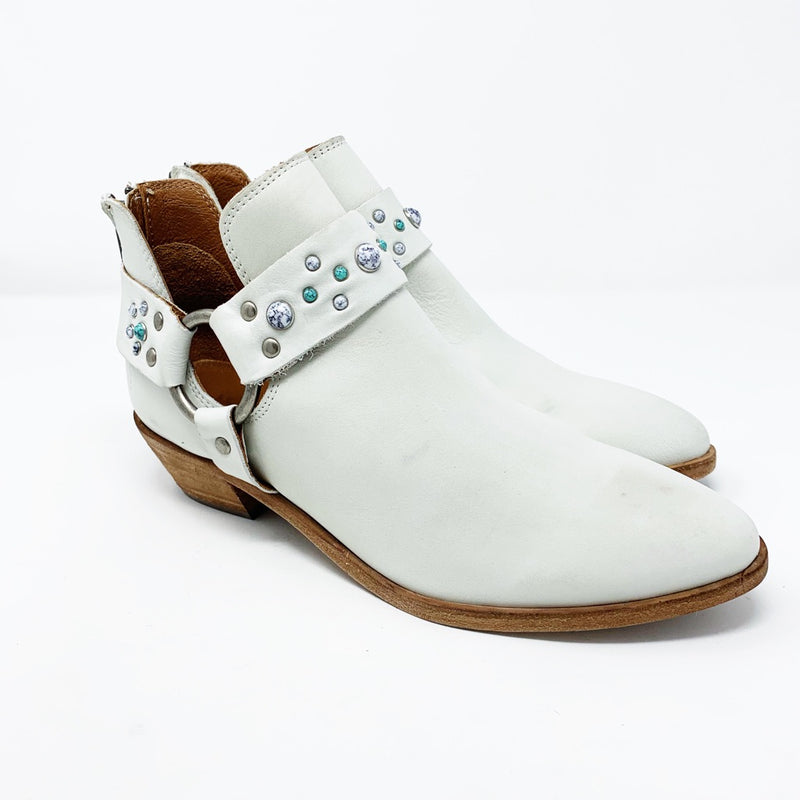 Frye Ray Stone Harness Bootie