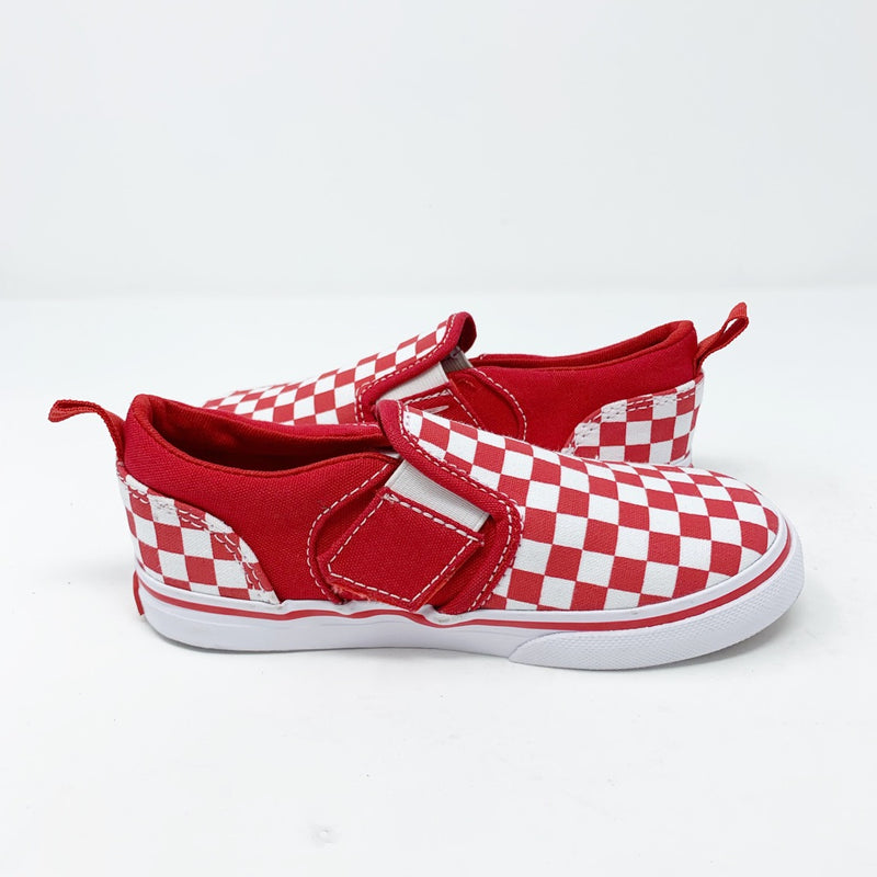 Vans Classic Checker Slip-on Sneaker, Toddler 10