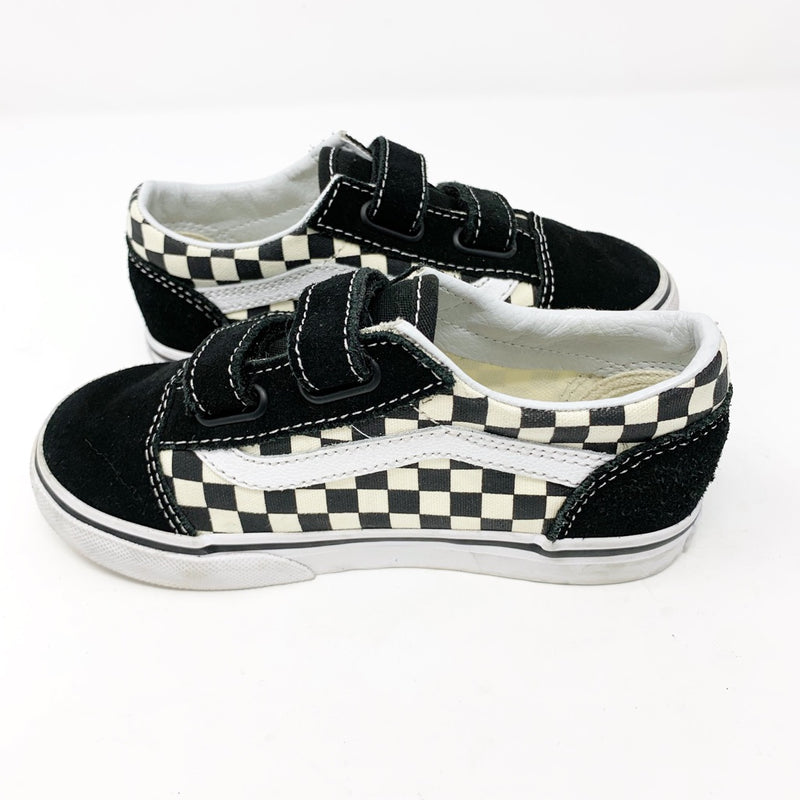 Vans Old Skool V Sneaker, Checkerboard Toddler 10