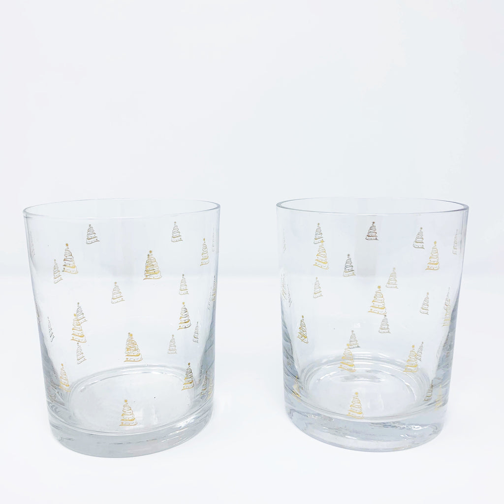 Nordstrom Rack Christmas Lowball Glass set